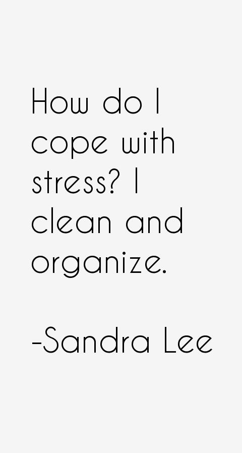 Sandra Lee Quotes