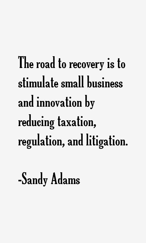 Sandy Adams Quotes