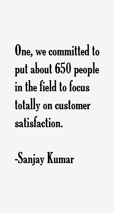 Sanjay Kumar Quotes