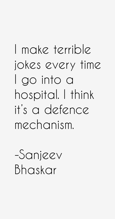 Sanjeev Bhaskar Quotes