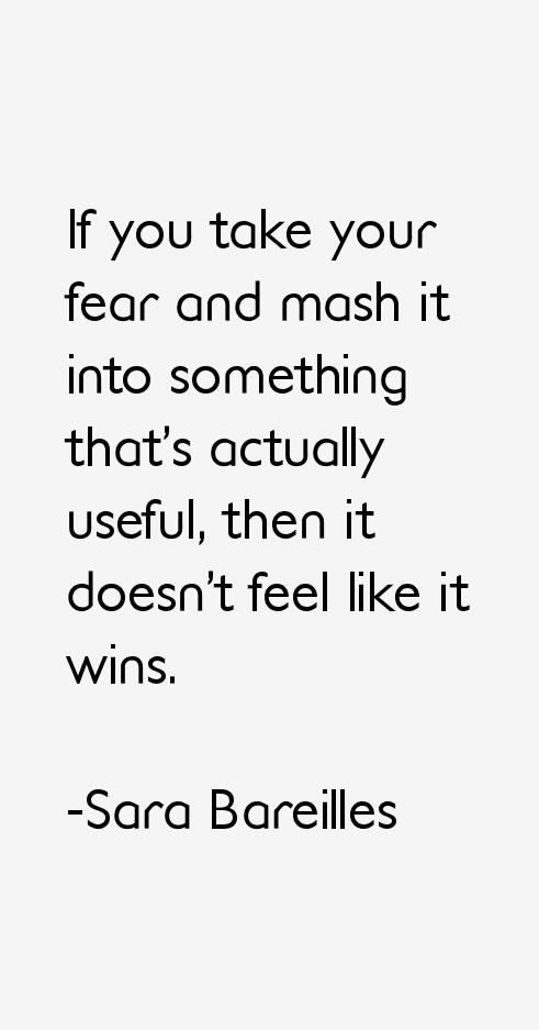 Sara Bareilles Quotes