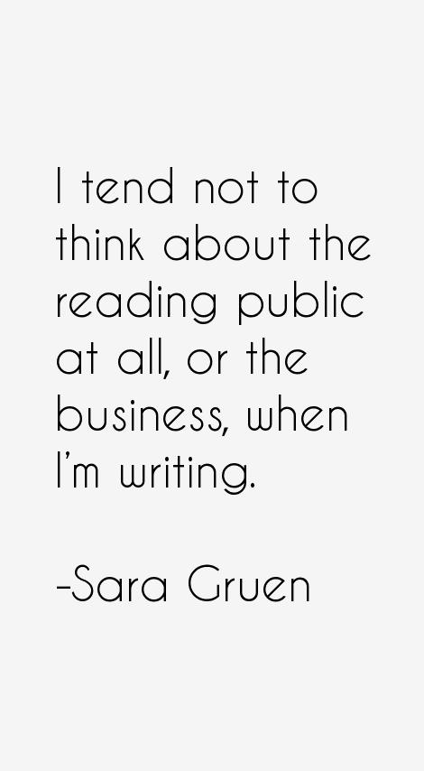 Sara Gruen Quotes