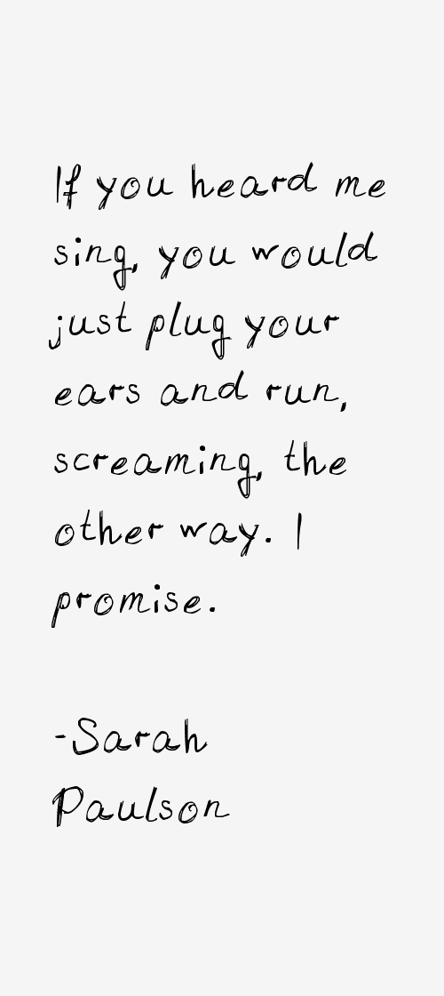 Sarah Paulson Quotes