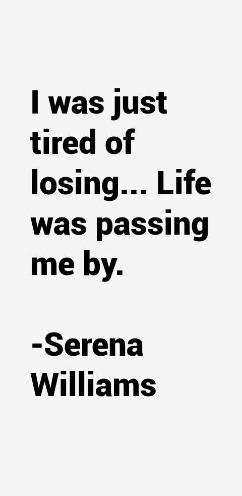 Serena Williams Quotes