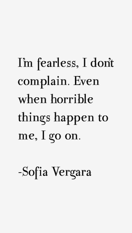 Sofia Vergara Quotes