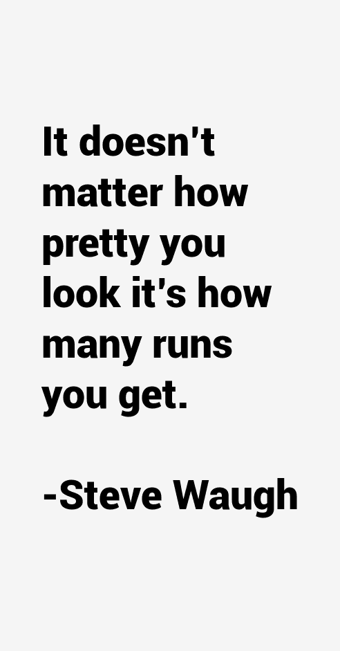 steve waugh and mark relationship tips