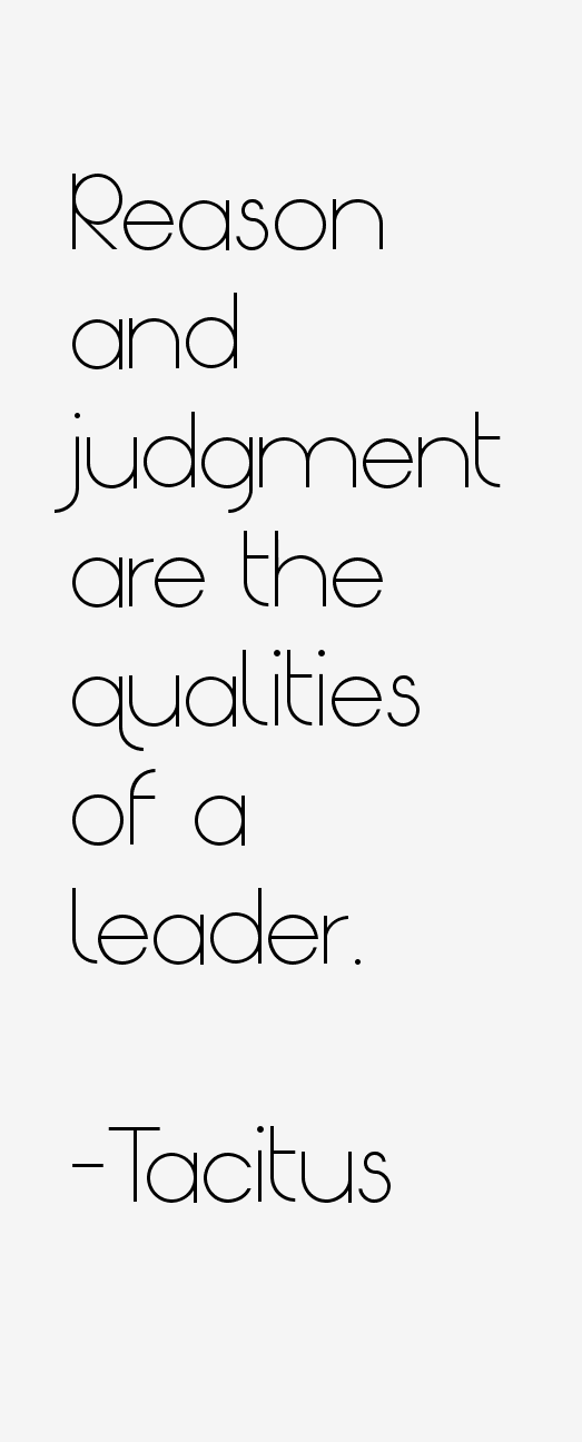 Tacitus Quotes