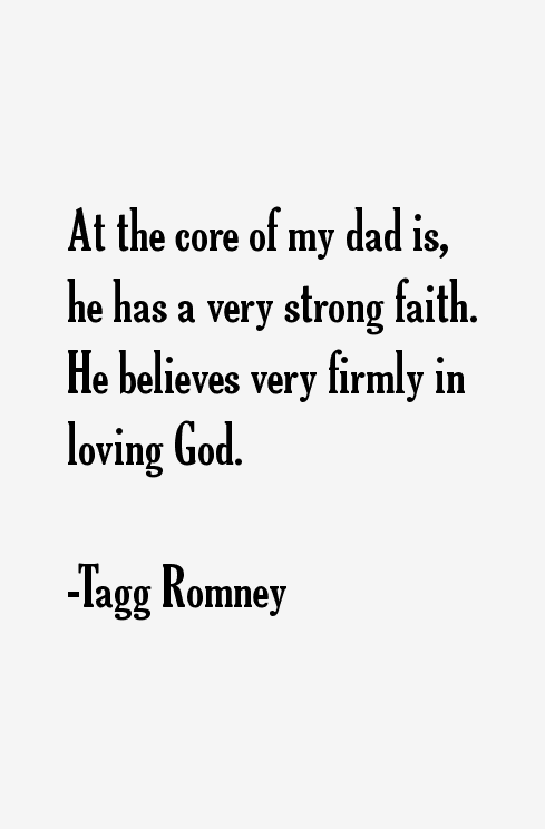 Tagg Romney Quotes