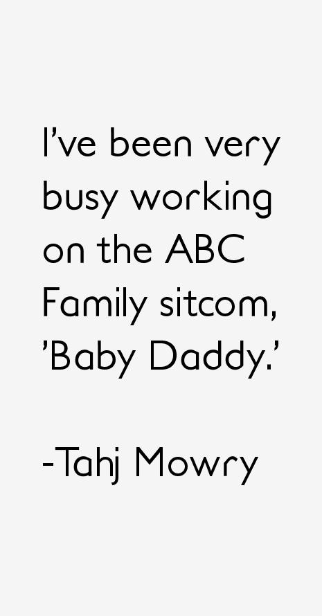 Tahj Mowry Quotes
