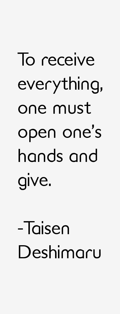 Taisen Deshimaru Quotes