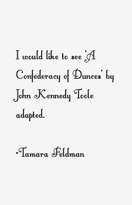 Tamara Feldman Quotes