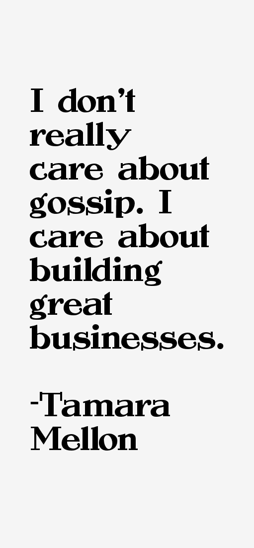 Tamara Mellon Quotes
