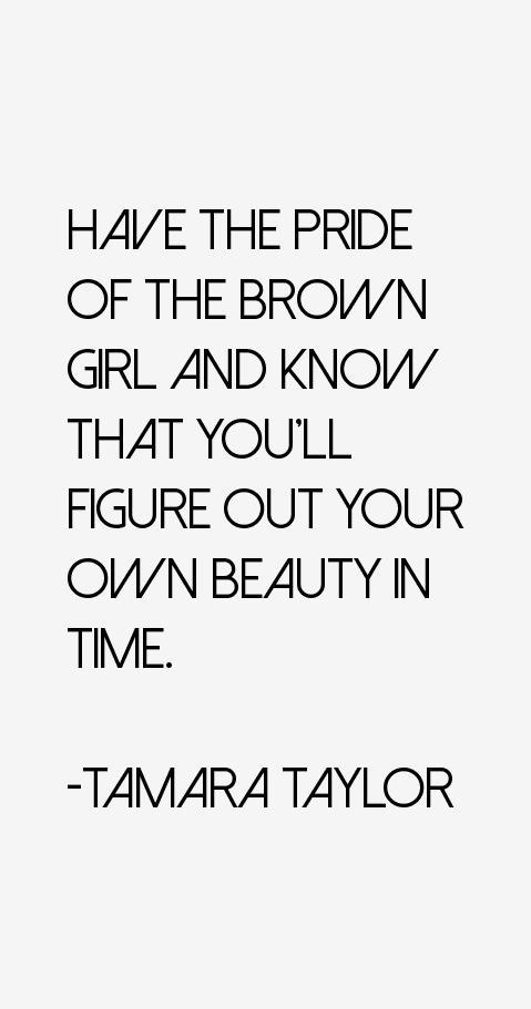 Tamara Taylor Quotes