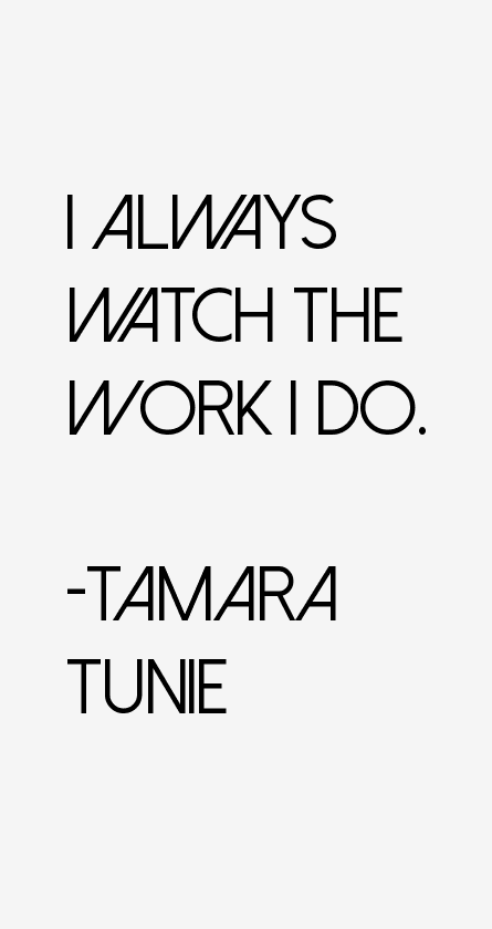 Tamara Tunie Quotes
