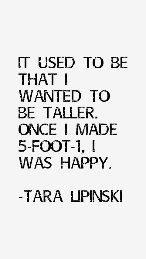Tara Lipinski Quotes