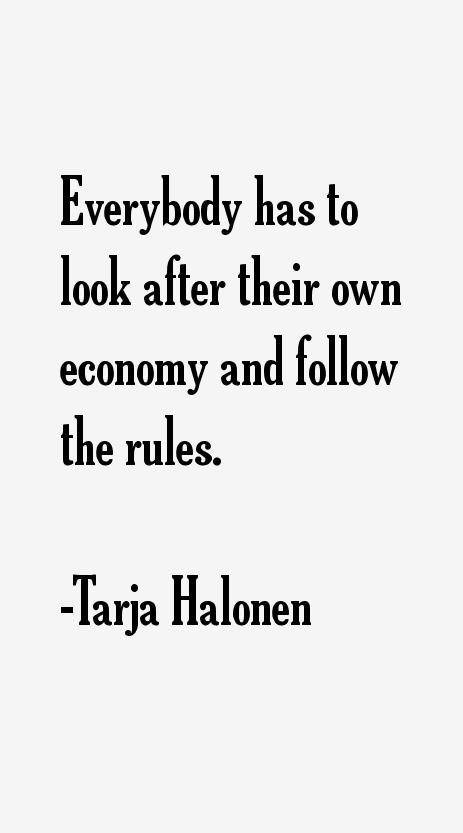 Tarja Halonen Quotes