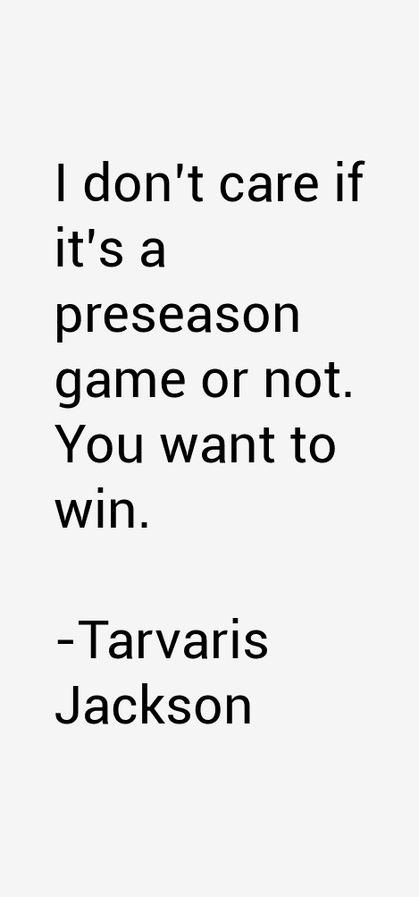 Tarvaris Jackson Quotes