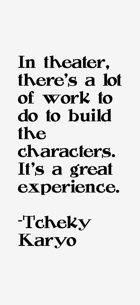Tcheky Karyo Quotes