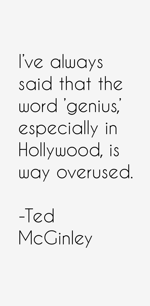 Ted McGinley Quotes