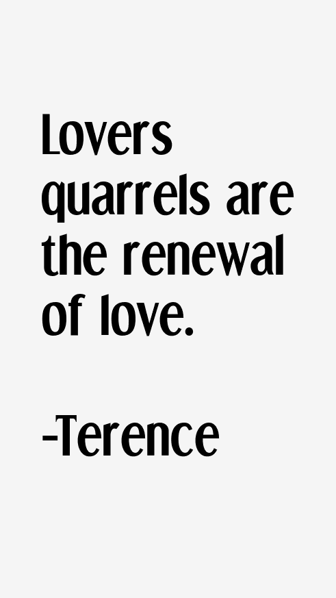 Terence Quotes