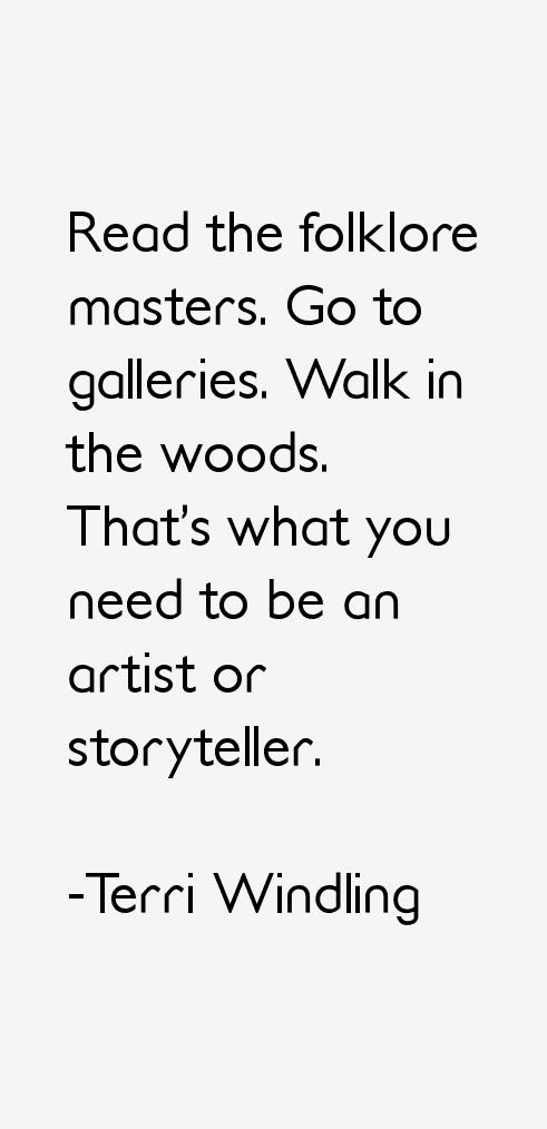 Terri Windling Quotes