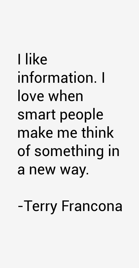 Terry Francona Quotes