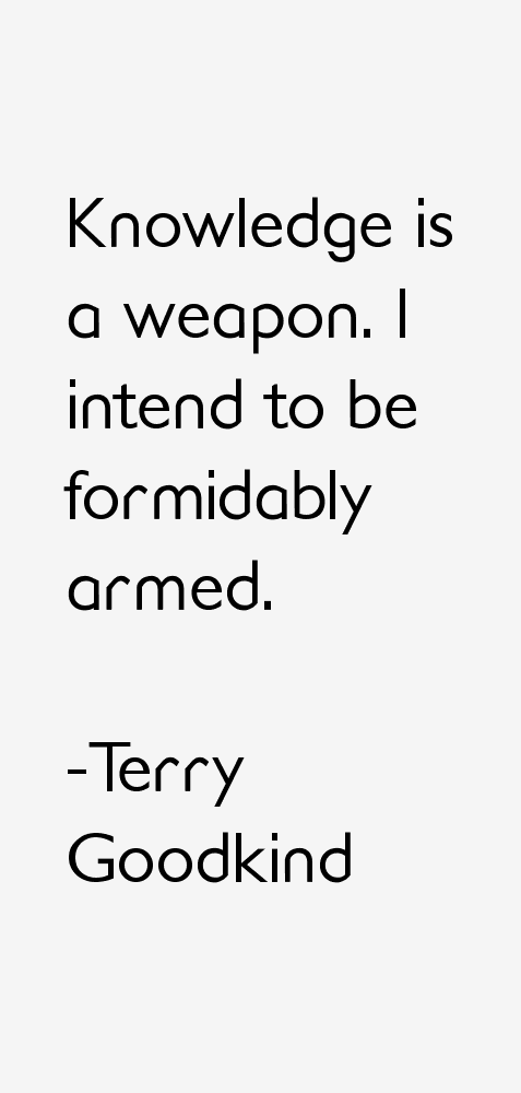 Terry Goodkind Quotes