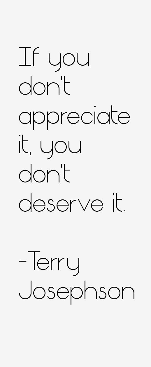 Terry Josephson Quotes