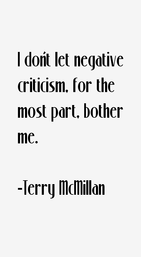 Terry McMillan Quotes