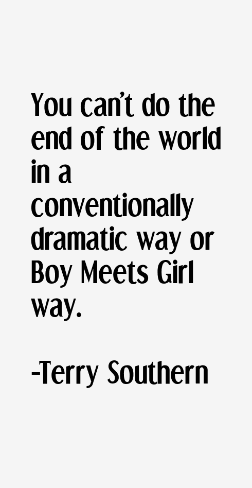Terry Southern Quotes