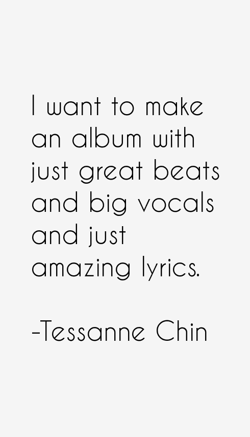 Tessanne Chin Quotes