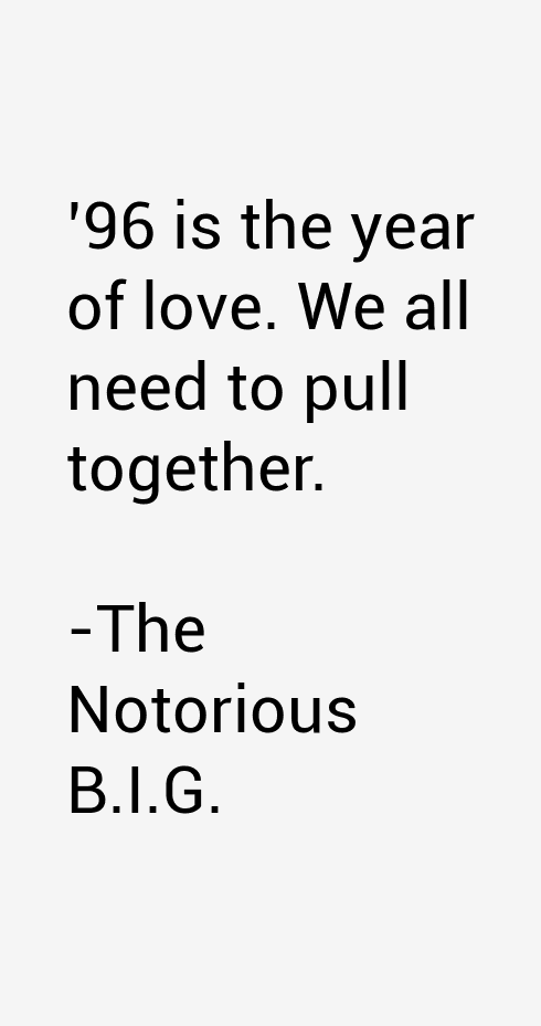 The Notorious B.I.G. Quotes