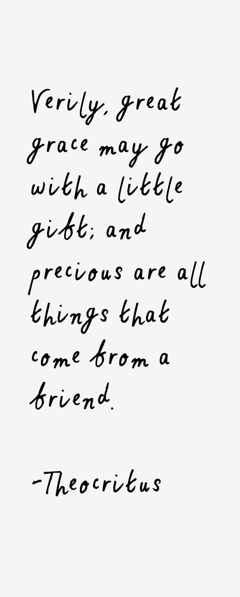 Theocritus Quotes