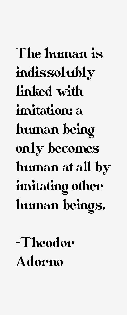 Theodor Adorno Quotes