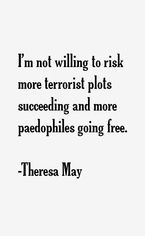 Theresa May Quotes