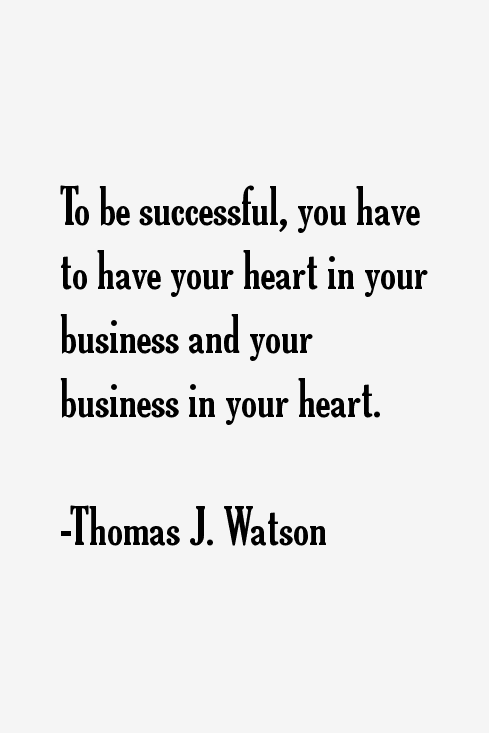 the life and business career of thomas watson The maverick and his machine: thomas watson, sr and the making of ibm [kevin maney] on amazoncom free shipping on qualifying offers the first complete look at one of america's legendary businessleaders this groundbreaking biography by kevin maney.