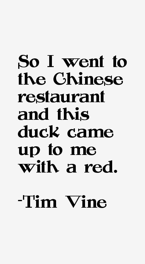 Tim Vine Quotes & Sayings