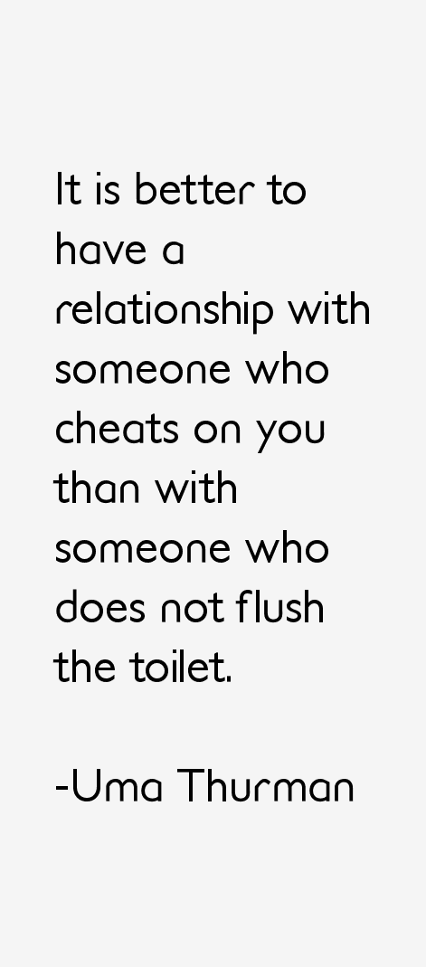 Uma Thurman Quotes