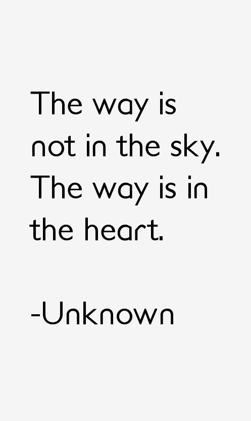 Unknown Quotes