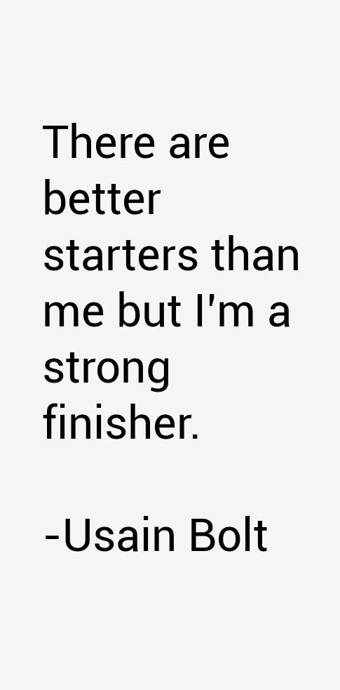 Usain Bolt Quotes
