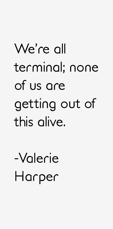 Valerie Harper Quotes