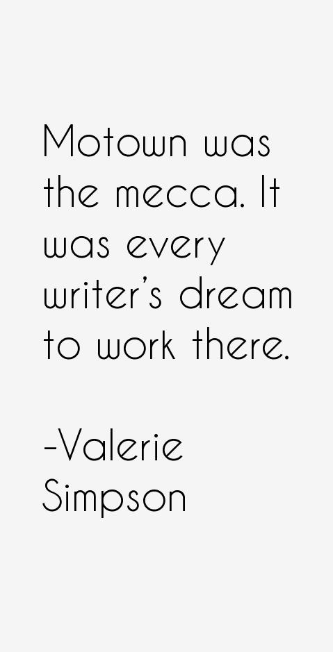Valerie Simpson Quotes