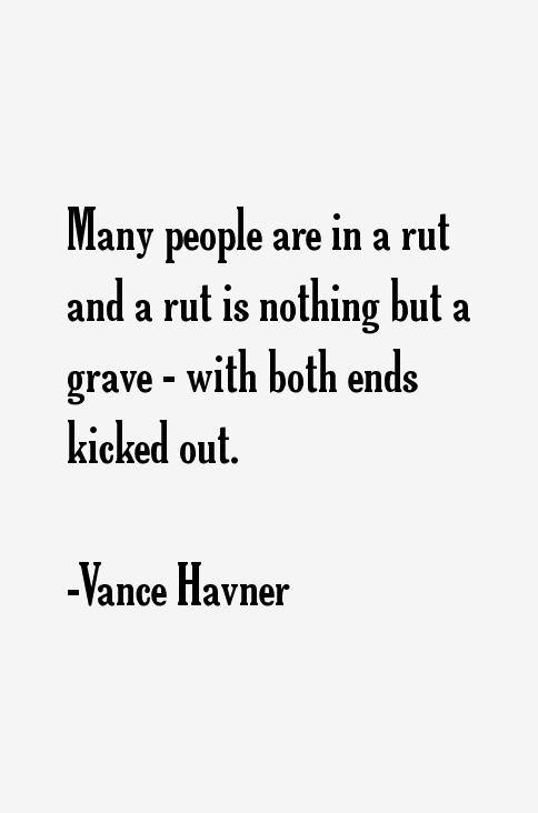 Vance Havner Quotes