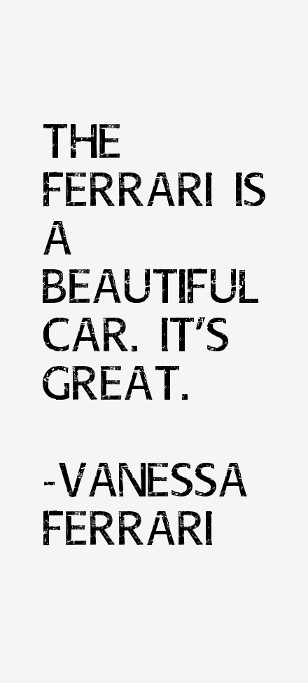 Vanessa Ferrari Quotes