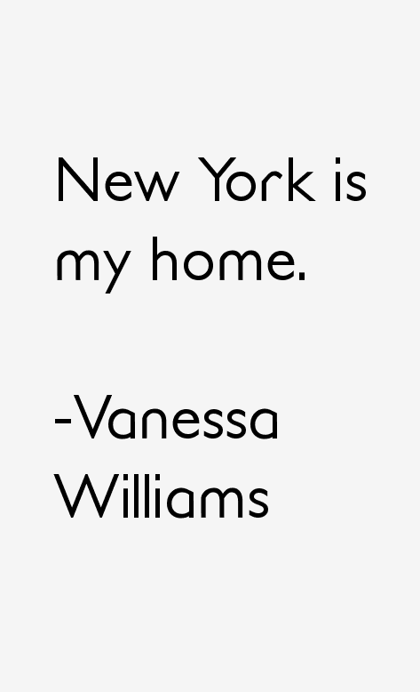 Vanessa Williams Quotes