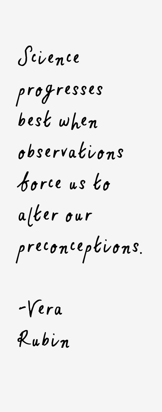 Vera Rubin Quotes