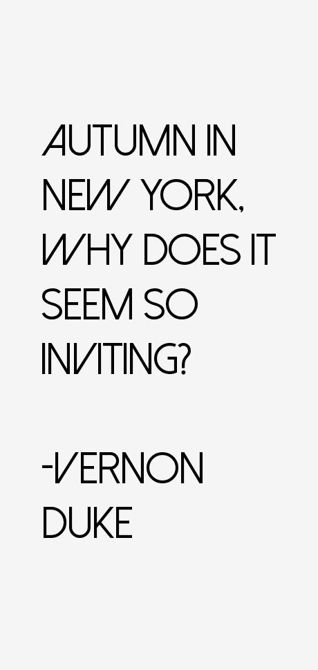 Vernon Duke Quotes