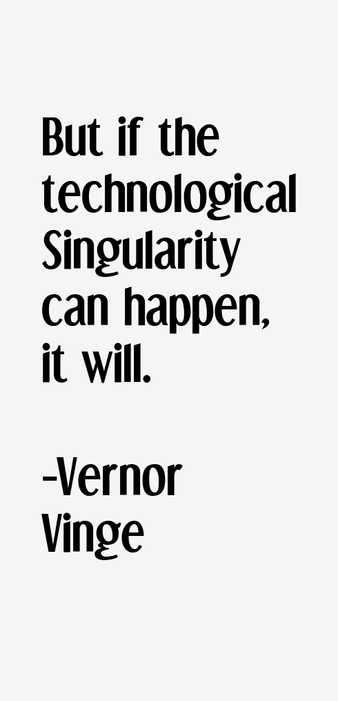Vernor Vinge Quotes