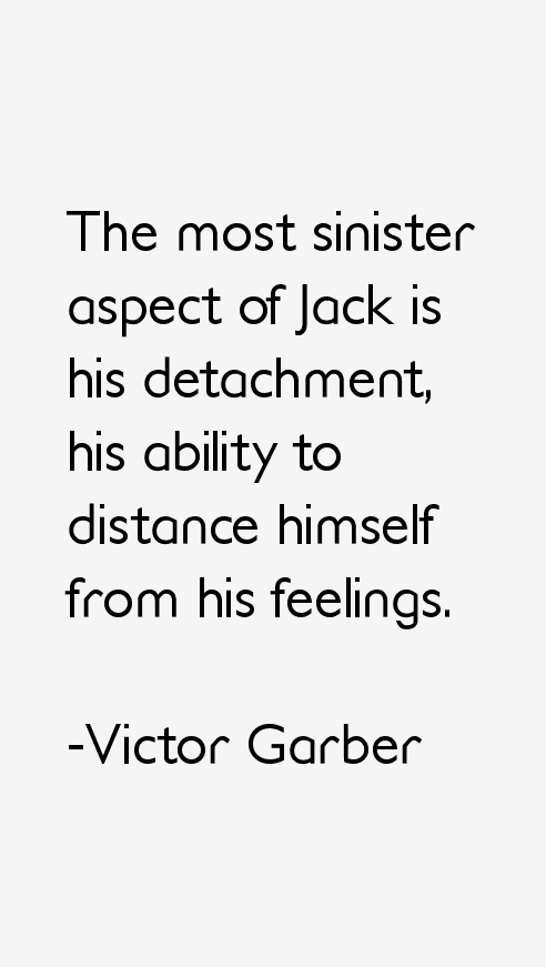 Victor Garber Quotes