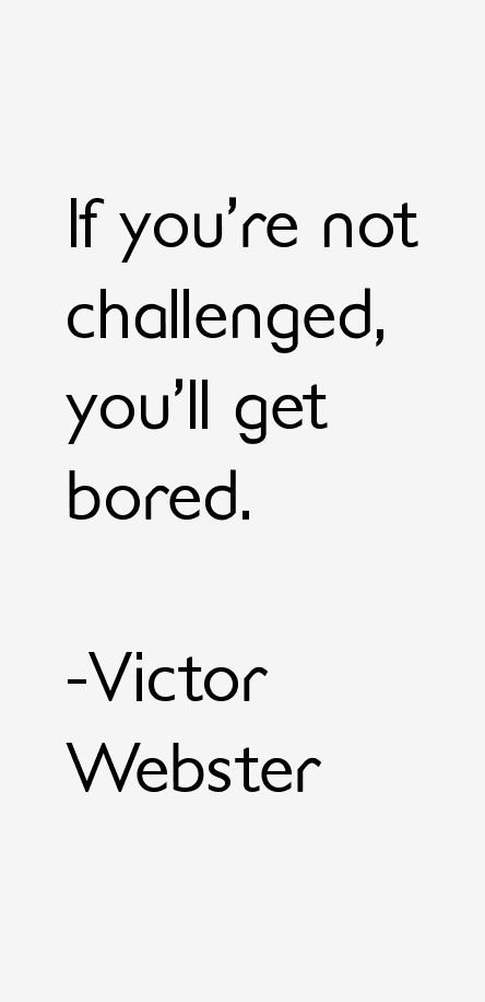 Victor Webster Quotes